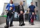 Upsee, il sostegno che consente ai bambini disabili di camminare